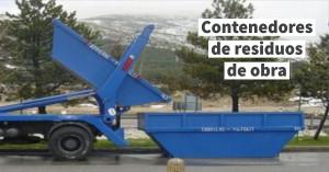 Contenedores de residuos de obra
